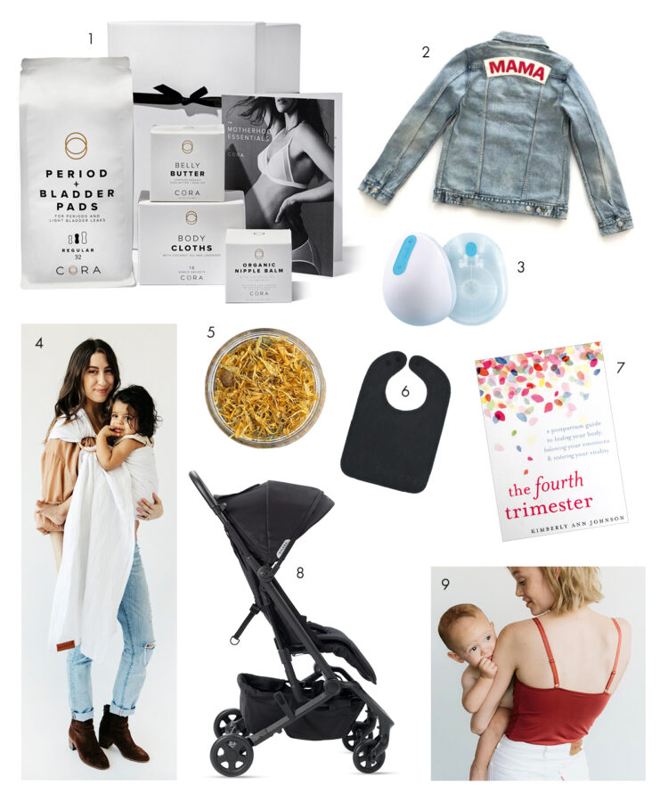 gift guide for new moms
