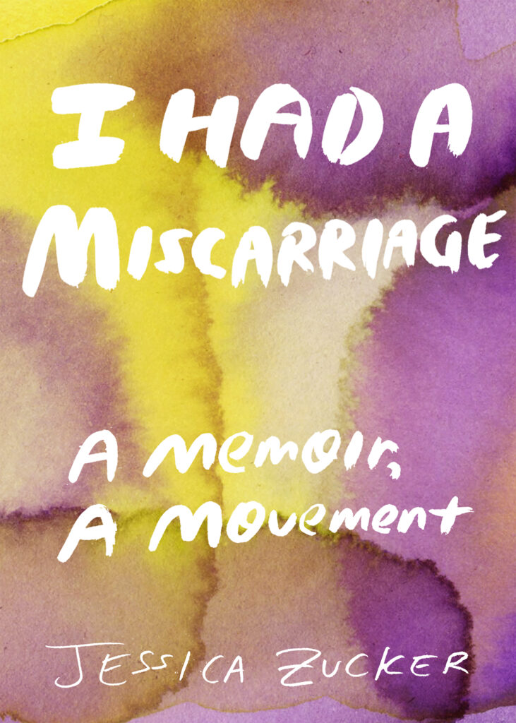 i had a miscarriage book